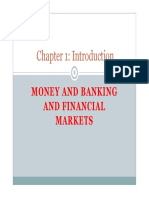 Money and Banking and Financial Markets