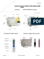 Refillable Cartridge Instructions for Epson 1400/1430, R1900, R2000 & R2880 & P400
