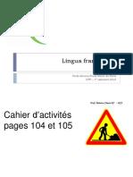 19 Juin Cours Français 6