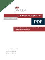 Informe Evolucion de La Construccion en Rosario Cuarto Trimestre 2011