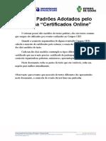 Modelo Textos Certificado