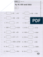 Y6 Math Worksheets