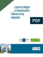 Guía comunicación interna