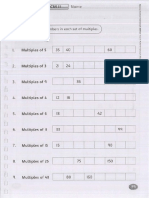 Y6 Math Worksheets Part 2
