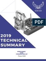 Technical Summary 2019