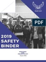 Safety Binder 2019