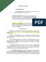 Contract of Lease-birmingham