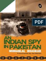An Indian Spy in Pakistan - Mohanlal Bhaskar