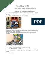 Generalidades Del ISR