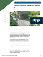 Medio Ambiente en Colombia_ Uno de Cada 3 Colombianos Afectado Por Mal Estado de Los Ríos