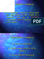 2 Gravimetric Analysis