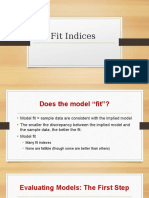 Fit Indices