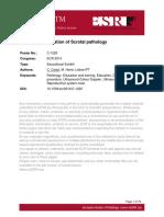 ECR2014_Ultrasound Evaluation of Scrotal Pathology