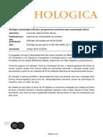 11 - Etologia e psicologia evolutiva- perspectivas evolutivas para a psicologia clínica