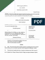 Westlake Hospital restraining order appeal