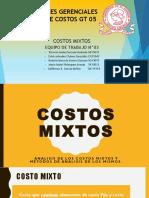 Costos Mixtos,Equipo de Trabajo 03