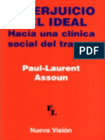 El perjuicio y el ideal [Paul-Laurent Assoun].pdf