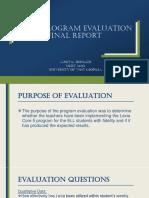 lexia program evaluation