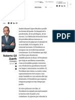 100 Días - Gobierrno de México 2018 - 2024