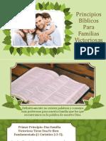 Principios Bíblicos Para Familias Victoriosas