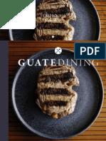 Colaboración en la revista Guatedining - Edición 47 - Febrero 2019