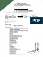 Adachi Autopsy Report