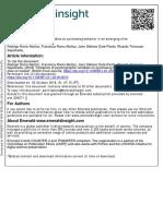 British Food Journal Volume Issue 2018 [Doi 10.1108%2FBFJ-01-2018-0010] Romo-Muñoz, Rodrigo; Romo-Muñoz, Francisca; Dote-Pardo, Jairo -- Incidence of Psychographic Variables on Purchasing Behav