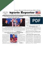 April 10 - 16, 2019  Sports Reporter