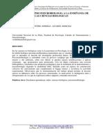 Aportes de La Psiconeurobiologia a La Enseñanza de Las Ciencias Biologicas