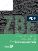 Informe Zonas de Bajas Emisiones