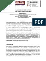 CAIM 2016_analisis exergtico de sistemas industriales de aire comprimido.pdf