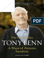 A Blaze of Autumn Sunshine - The Last Diaries