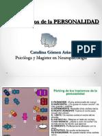 Los Trastornos de La Personalidad desde la psicologia cognitiva