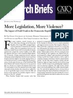 More Legislation, More Violence? The Impact of Dodd-Frank in the Democratic Republic of the Congo