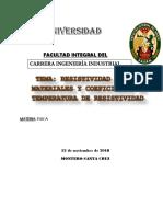 Tarea de Inv. Resistividad de Materiales Fis III