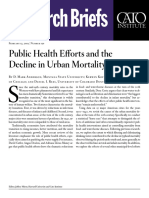Public Health Efforts and the Decline in Urban Mortality