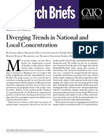 Diverging Trends in National and Local Concentration