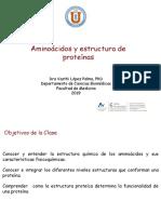 8 Aminoacidos y Estructura de Proteinas -Vf