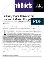 Reducing Moral Hazard at the Expense of Market Discipline