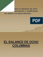 El Balance de Ocho Columnas
