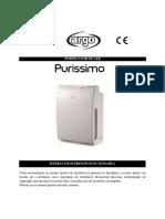 Manual de Utilizare Argo Purissimo RO