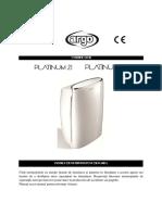 Manual de Utilizare Argo Platinum RO