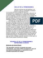 La Segunda Ley de La Termodinámica (1)