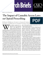 The Impact of Cannabis Access Laws on Opioid Prescribing