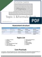 Physics a Formula Book