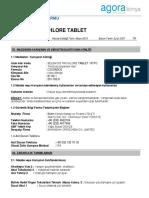 Selenoi̇d Trichlore Tablet Msds Havuz kimyasal