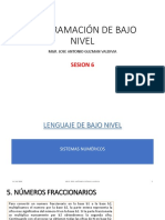 SESION 6 - LENGUAJE DE BAJO NIVEL - SISTEMAS NUMERICOS 2.pdf