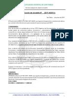 Resolucion Que Aprueba La Directiva Para Viaticos 2019 - San Pablo