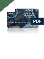 PDF - CPAD Adultos - 2 Trimestre de 2019 - 21-04-2019 - Lição 3 - Entrando No Tabernáculo O Pátio