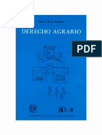 Derecho Agrario. Mario Ruiz Massieu